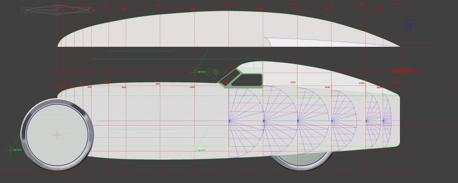 CYCLECAR TRIKE LINEAR DRIVE 16021